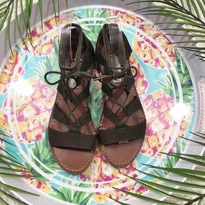 Steve Madden Gabriela Gladiator Lace Up Sandals